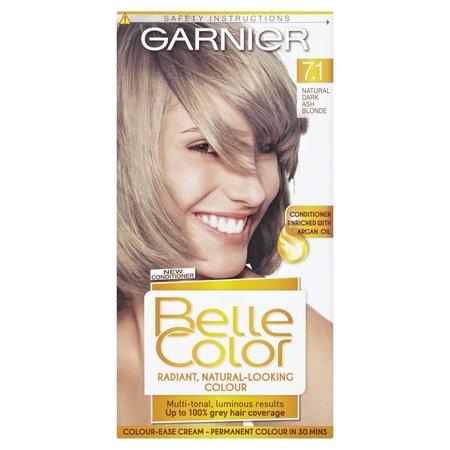 Garnier Belle Color 4 - Ash blond - die permanente Haarfärbung