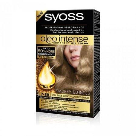 SYOSS Oleo intense 7-58 cool beige blond