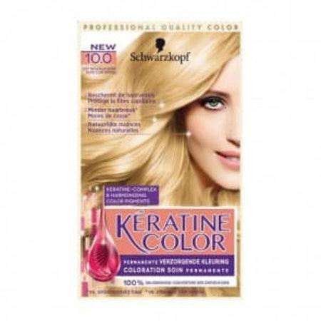 Schwarzkopf Keratine Color 10.0 Natuurlijk Blond