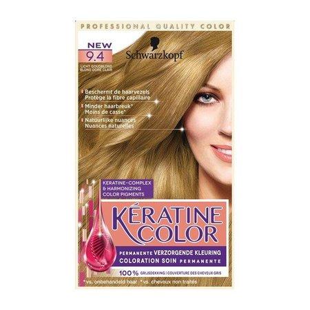 Schwarzkopf Keratine Color 9.4. Goudblond