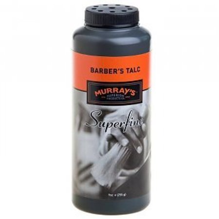 Murrays Superfein Barbers Talc