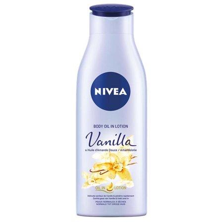 Nivea Body Oil Lotion Vanilla & Amandelolie 200 ml