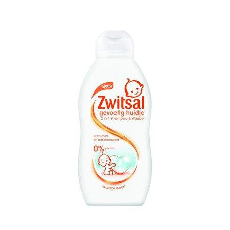 Zwitsal Empfindliche Haut Shampoo & Wash Gel 200 ml