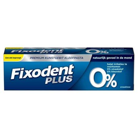 Fixodent Adhesive Paste Plus 0% Premium-40g