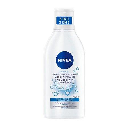 NIVEA Essentials Verfrissend & Verzorgend Micellair Water - Normale/ Gemengde Huid - 400 ml