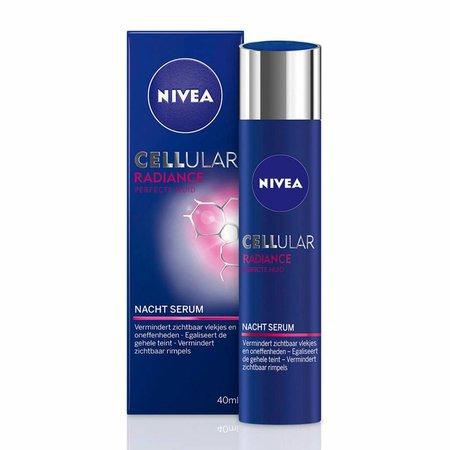 NIVEA CELLular Radiance Night Serum Night Cream - 40 ml