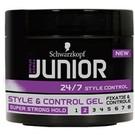 Schwarzkopf Junior Gel Stil und die Kontrolle von Super Strong 150 ml