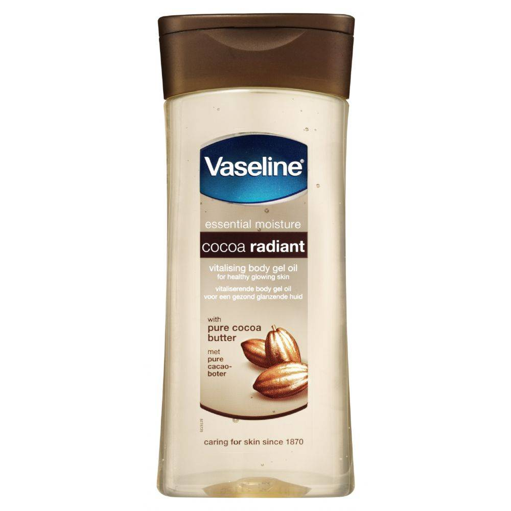 Vaseline Body Gel Oil Cocoa 200 Ml Onlinevoordeelshop