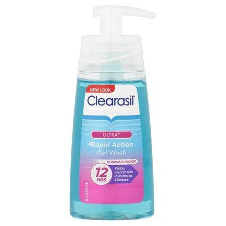 Clearasil Ultra Rapid Action Gel Wash Cleansing Gel