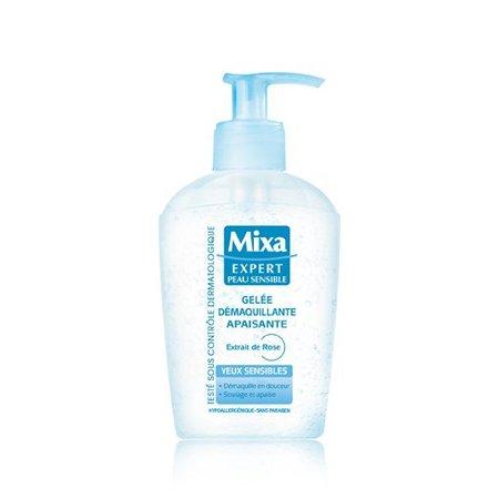 Mixa Oogreinigingsgel Verzachtend Rozenextract - Gevoelige Ogen - 125 ml -