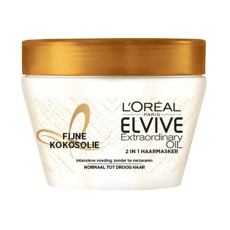 L'Oréal Elvive Extraordinary Oil Kokos Haarmasker 300 ml