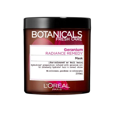 L'Oréal Botanicals Geranium Radiance Remedy-Maske 200 ml