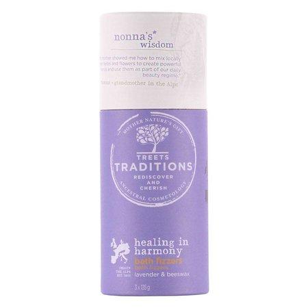 Treets Healing in Harmony Bath Fizzers 3 x 135 gr