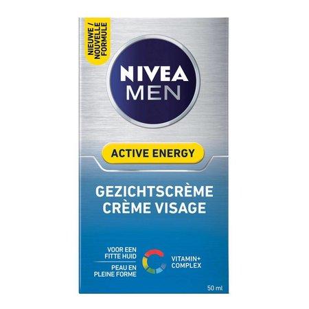Nivea Men Gezichtscreme Active Energy 50 ml