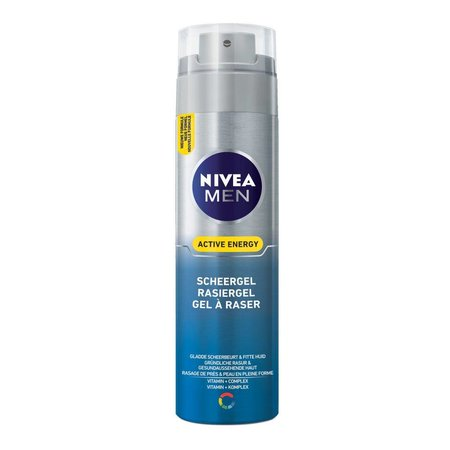 Nivea Men Rasiergel Active Energy 200 ml