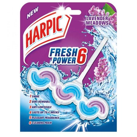 Harpic WC-Block Aktiv Frischer Lavendel