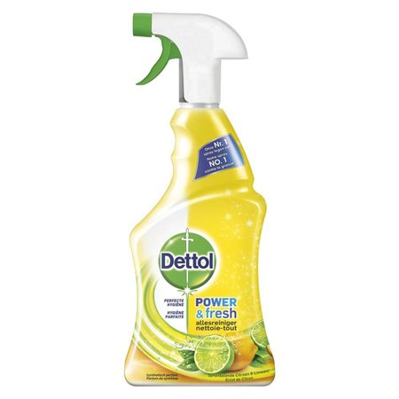 Dettol Power & Fresh Spray Citroen & Limoen Allesreiniger 500 ml