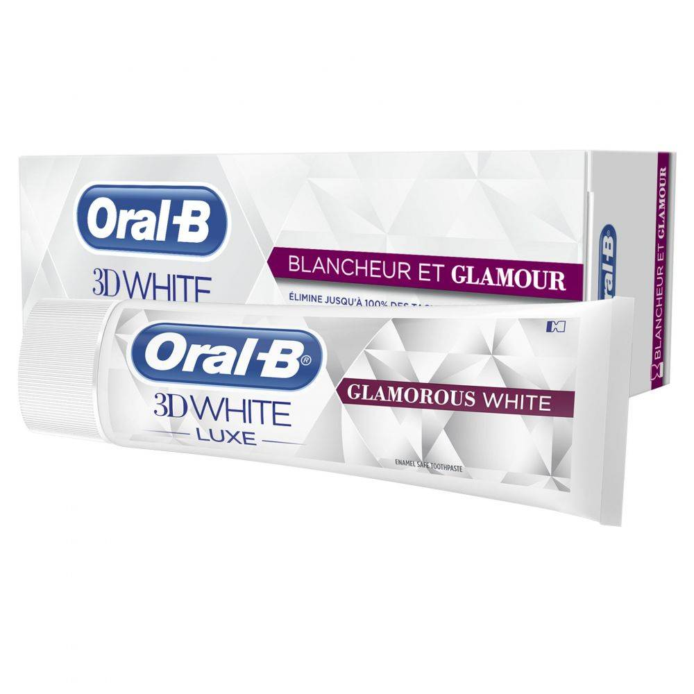 Oral-B Zahnpasta 3DWhite Luxus Glamorous White 75 ml