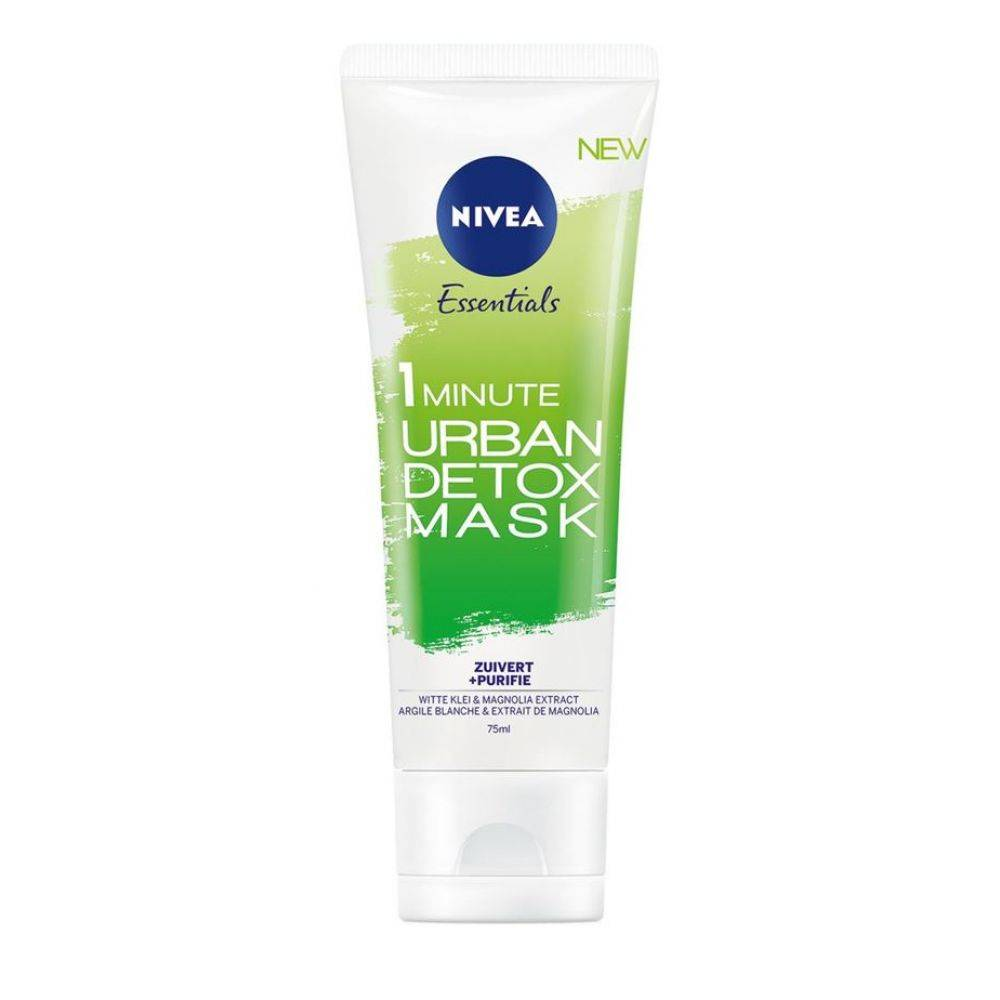 Nivea Essentials Urban Skin Detox Zuiverend Gezichtsmasker 75 ml