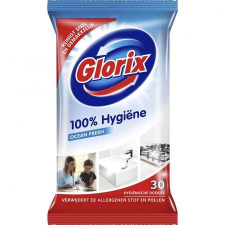 Lingettes hygiéniques Glorix - 30 pièces