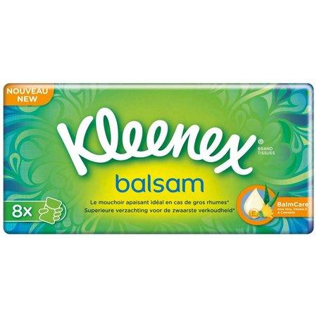 Kleenex Balsam Tissues 8 Packungen