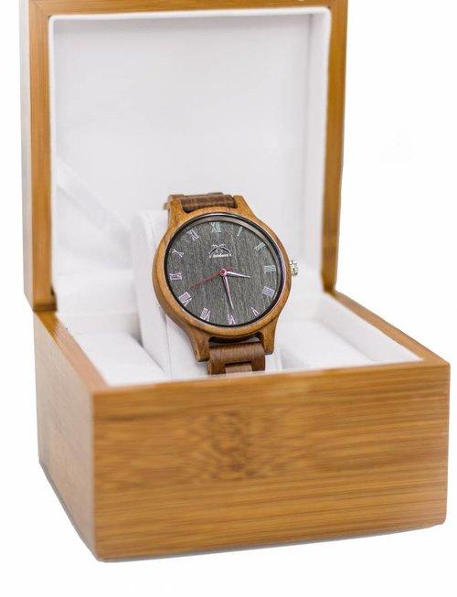 Hodalump Holz Uhr Braun