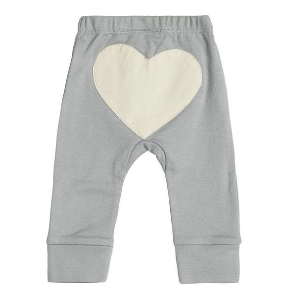Sapling DOVE GREY HEART BROEK