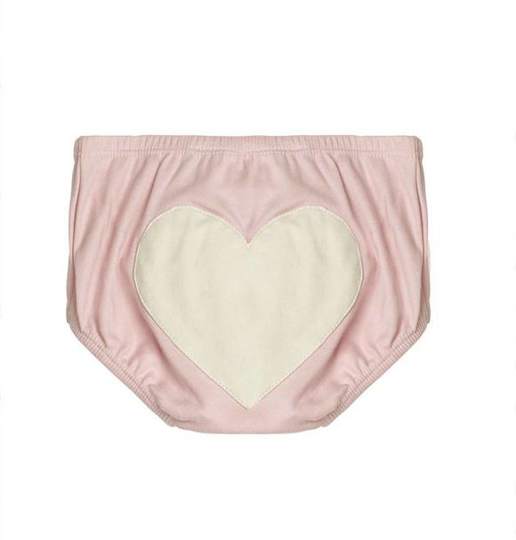 Sapling DUSTY PINK HEART BLOOMERS