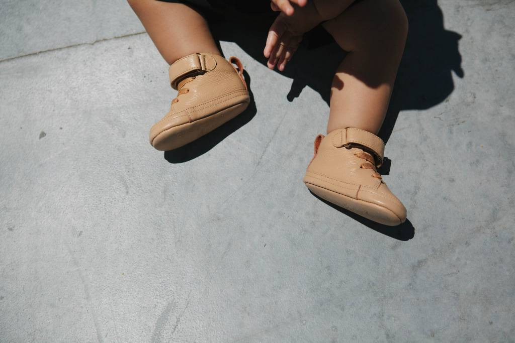 Adam + Yve BEIGE LUXE HIGH TOPS