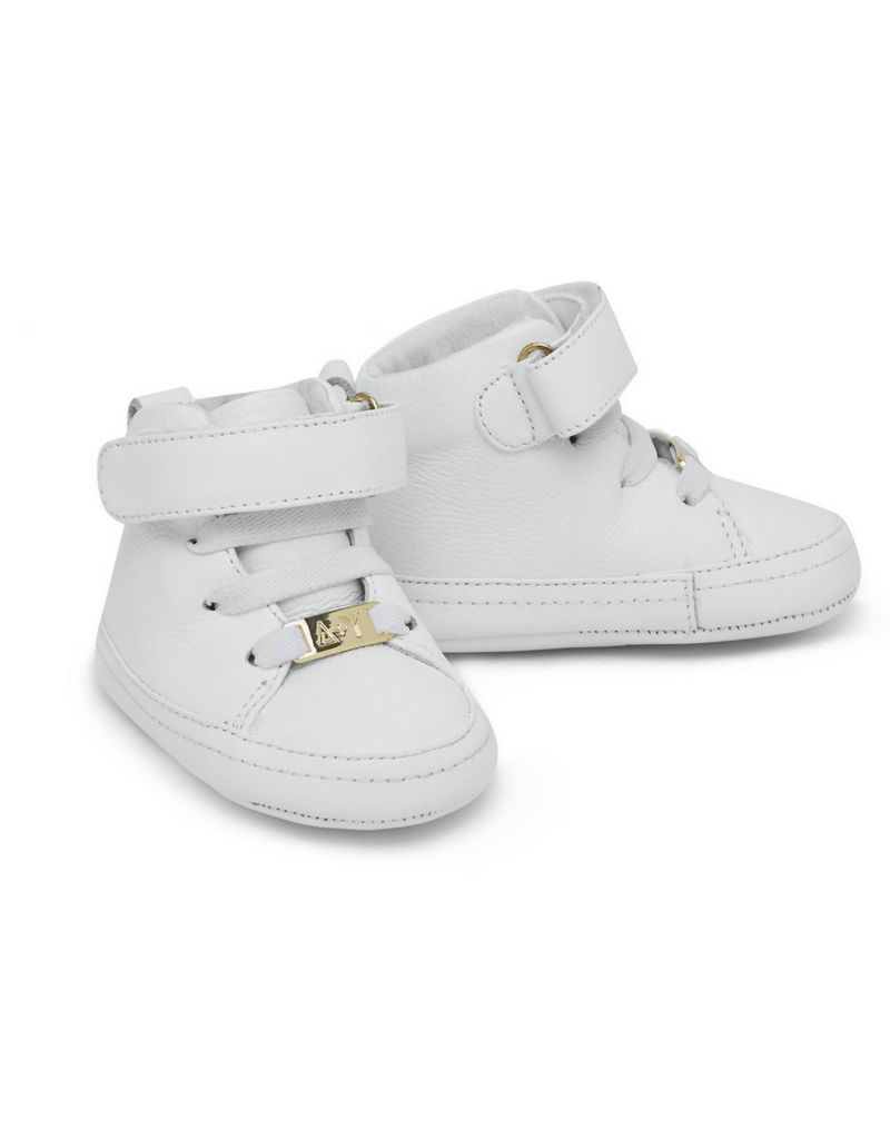 Adam + Yve WHITE LUXE HIGH TOPS