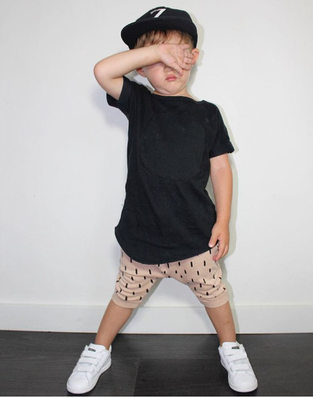 Babyleggingco BLACK CIRCLE SHIRT