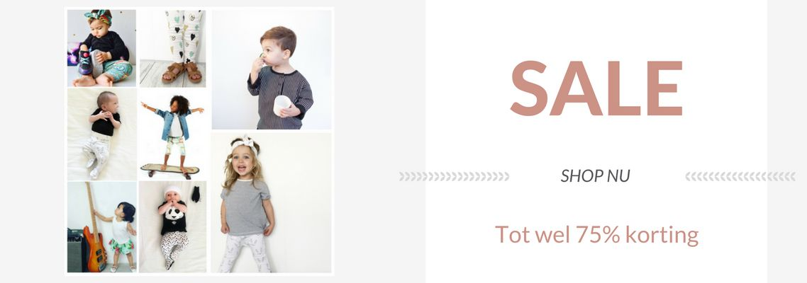 SALE van stoere babykleding en kinderkleding bij Minis Only