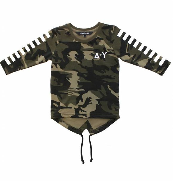 Adam + Yve CAMO LONG SLEEVE