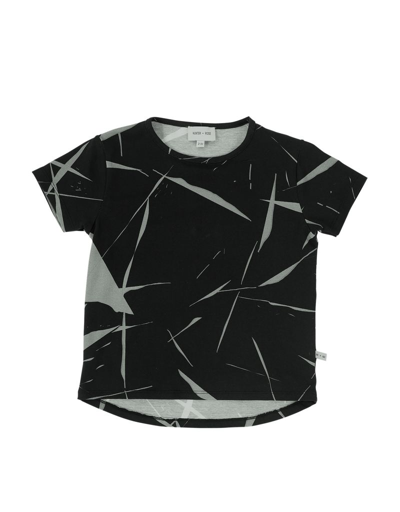Hunter + Rose ABSTRACT MARBLE SHIRT