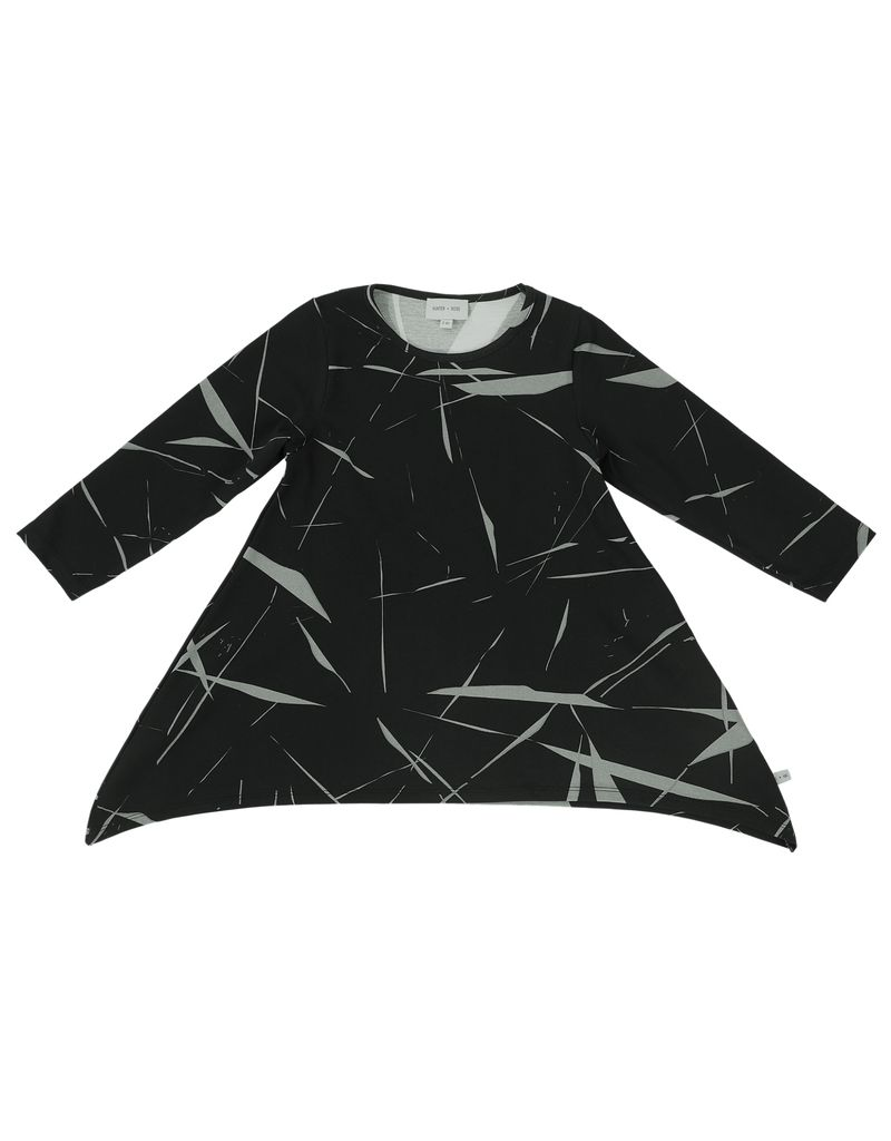 Hunter + Rose ABSTRACT MARBLE DRESS