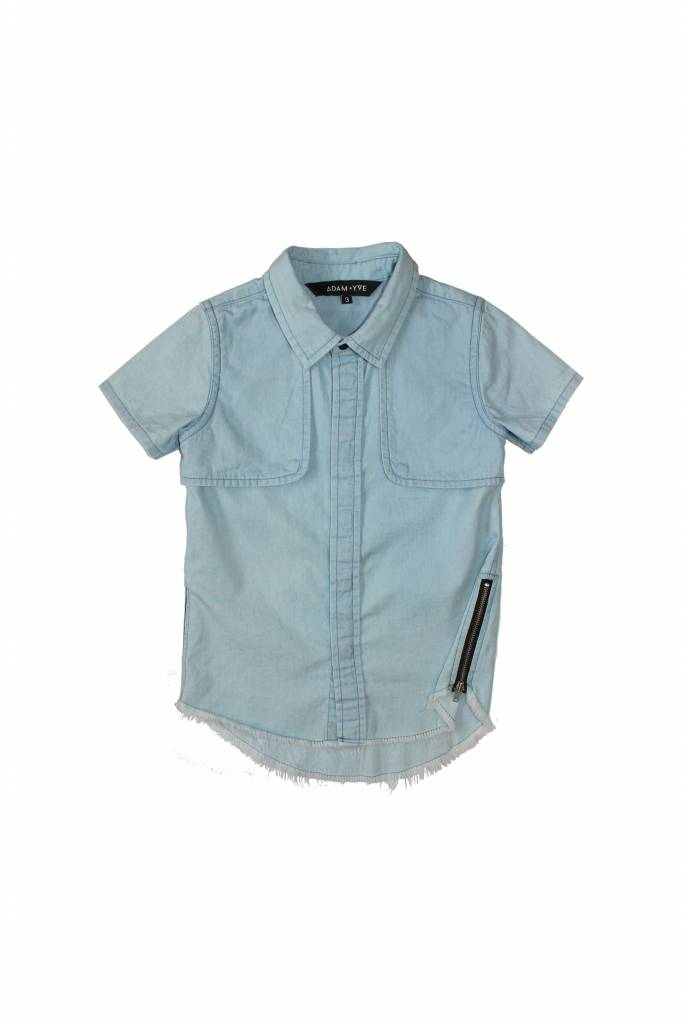 Adam + Yve CHAMBRAY BUTTON UP SHIRT