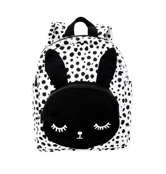 VanPauline BACKPACK BUNNY WHITE