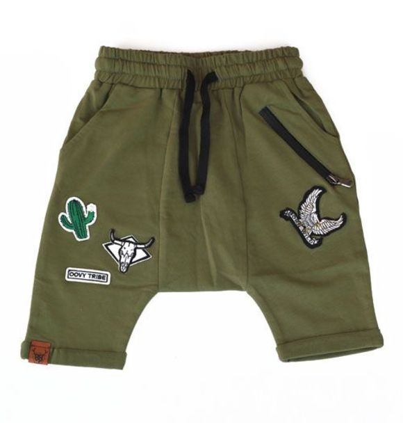Oovy KAKI TRIBE SHORTS