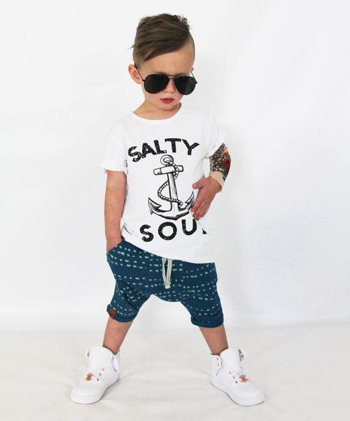 Oovy INDIGO SPLASH SHORTS - OOVY KIDS KLEDING