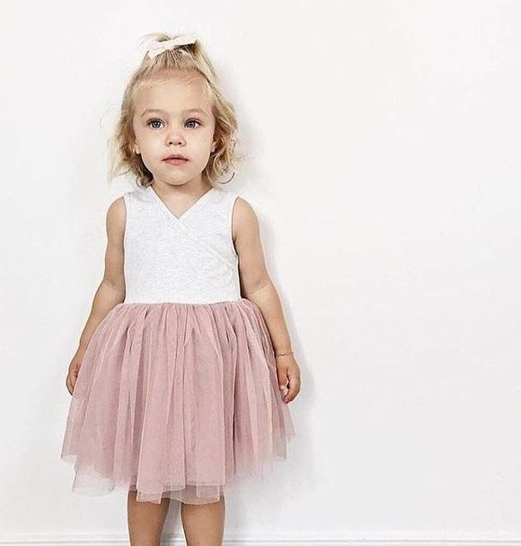 Little Johns Kidswear INDIE ROSE TUTU - DUSTY PINK