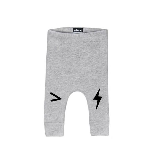 VanPauline GREY LIGHTNING PANTS
