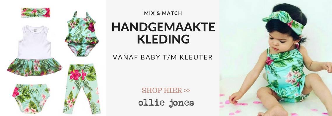 Handgemaakte babykleding en kinderkleding