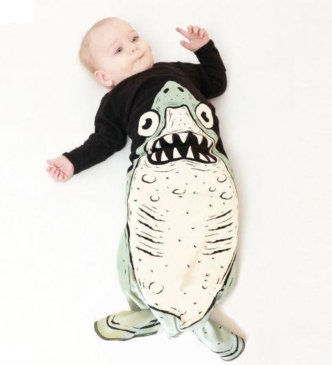 stoere slaapzak haai
