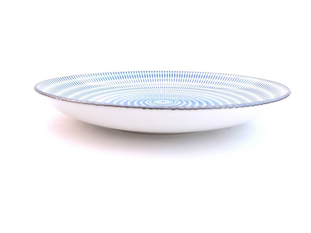 Tokyo design  Japans dinerbord met opstaande rand   Elin u0026#39;s Pottery