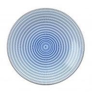 Tokyo Design Japans porseleinen dinerbord met opstaande rand.