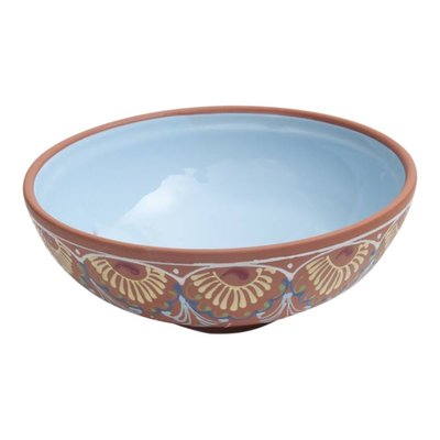 Bowls and dishes Salade/ brood schaal licht blauw