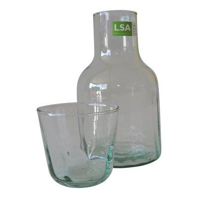 LSA International Karaf en tumbler glas