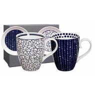 Tokyo Design bleu de'nîmes mug+tip set 4pcs