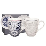 Tokyo Design shiki mug+tip set 4pcs blue