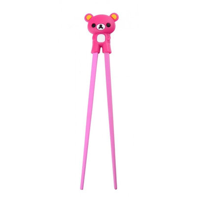Tokyo Design Eetstokjes kinderen roze beer